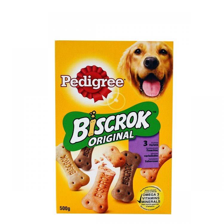 PEDIGREE BISCROCK DOG TREATS 500g
