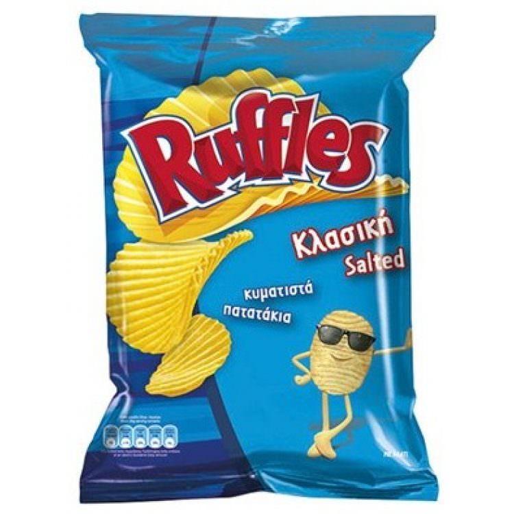 RUFFLES SALTED 180g