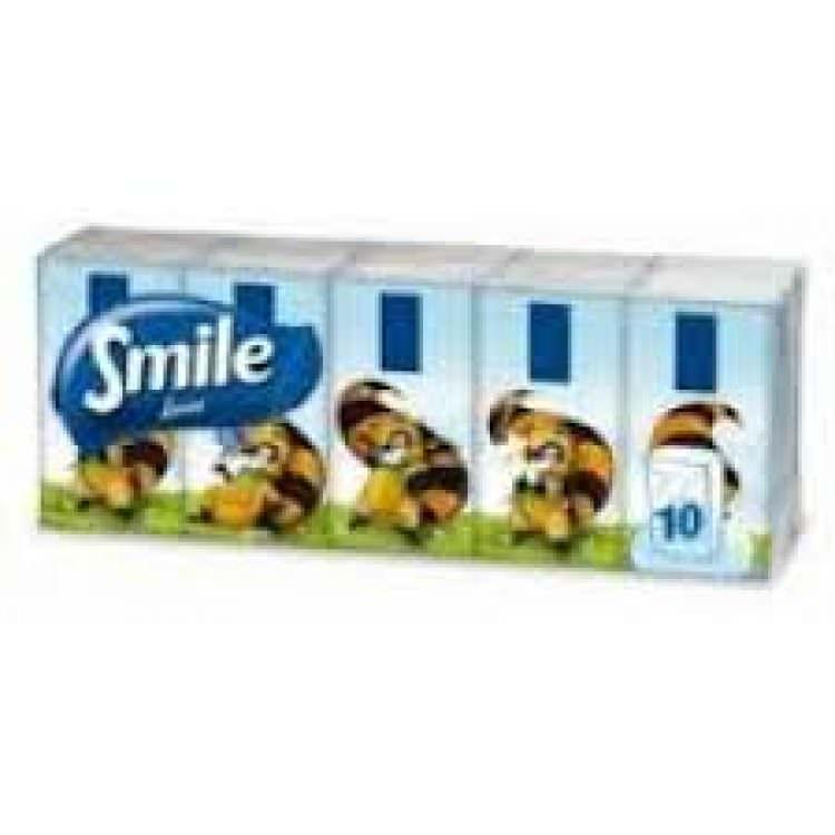 SMILE TISSUES PACK (10pcs)