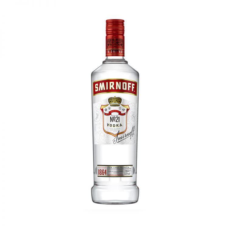 SMIRNOFF VODKA RED 0,7L