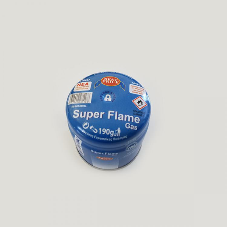 SUPER FLAME GAS REFILL 190g