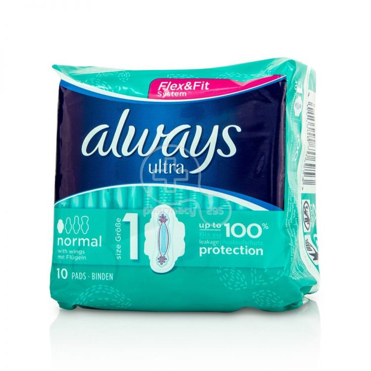 ALWAYS CLASSIC PADS NORMAL SIZE 1 (10pcs)