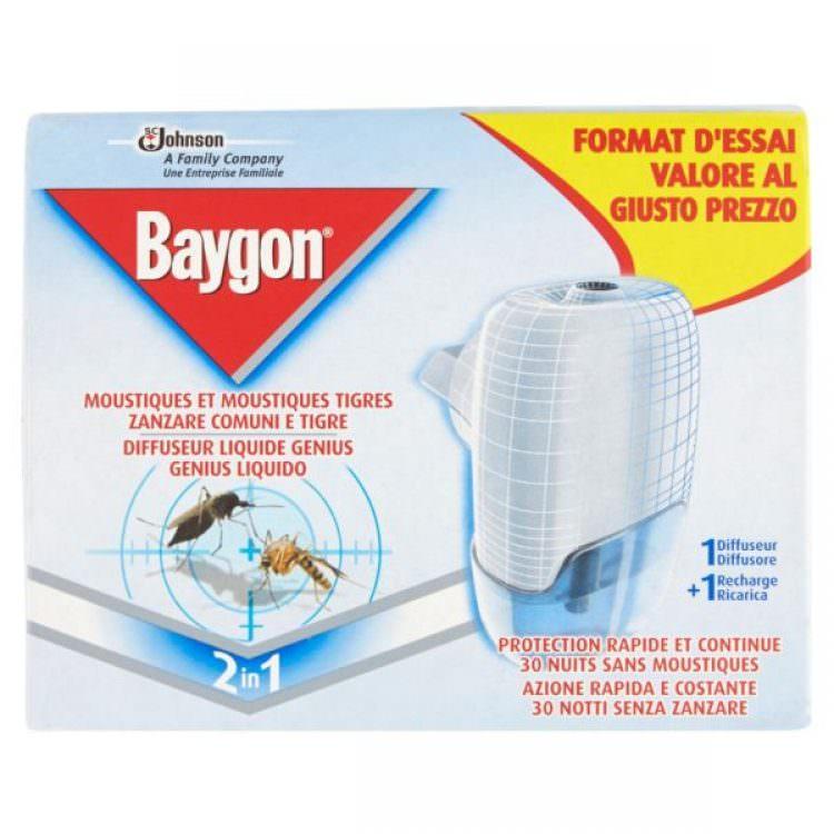 BAYGON ELECTRIC LIQUID REPELLENT KIT