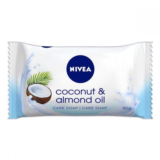 NIVEA COCONUT & ALMOND OIL SOAP 90g