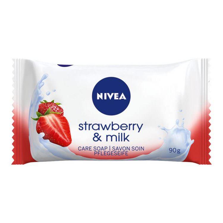 NIVEA STRAWBERRY & MILK SOAP 90g