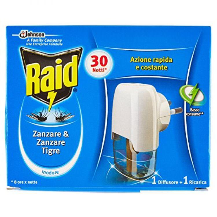 RAID ELECTRIC LIQUID REPELLENT KIT