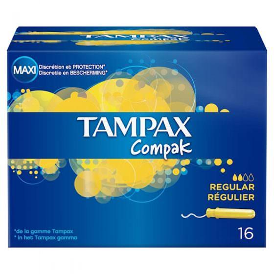 TAMPAX COMPAK REGULAR (16pcs)