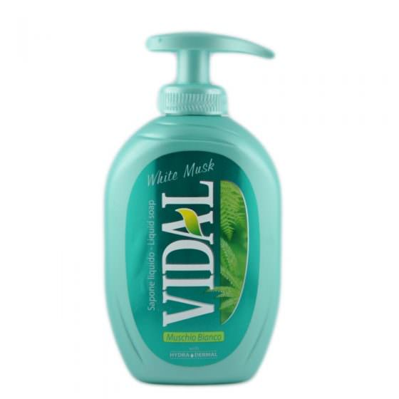 VIDAL WHITE MUSK HAND WASH 300ml