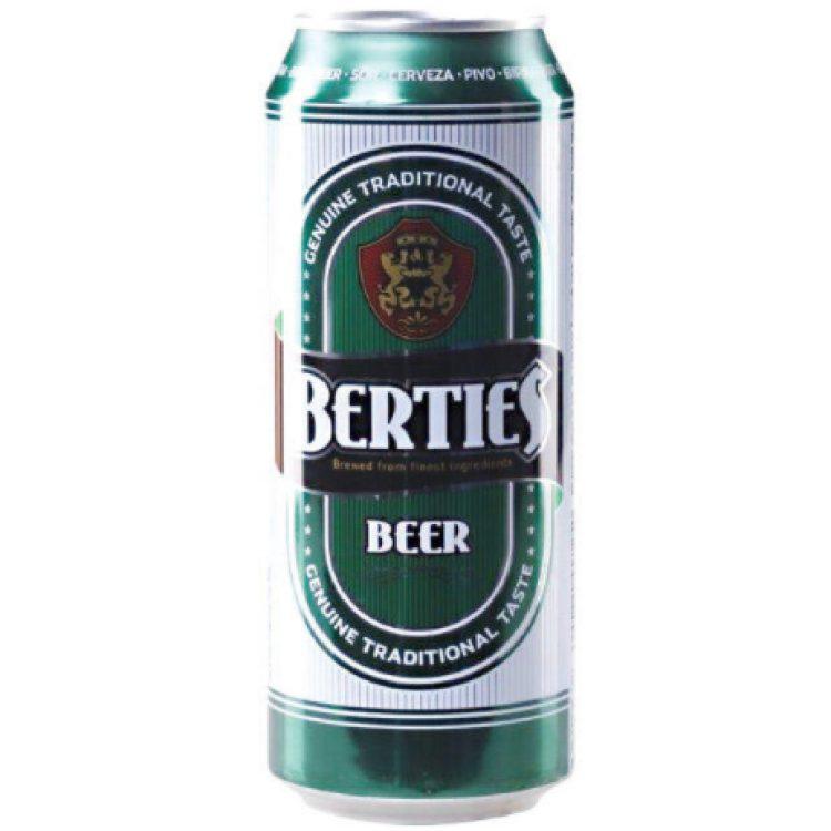 Μπύρα Berties 500ml