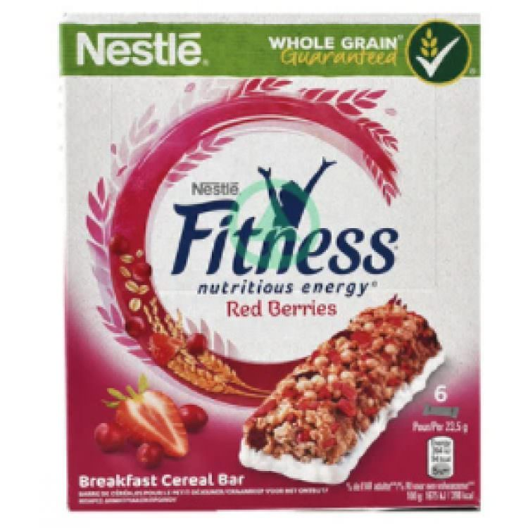 FITNESS RED BERRIES 6X23,5G