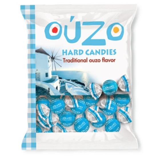 HARD CANDIES TRADITIONAL OUZO FLAVOR 300G