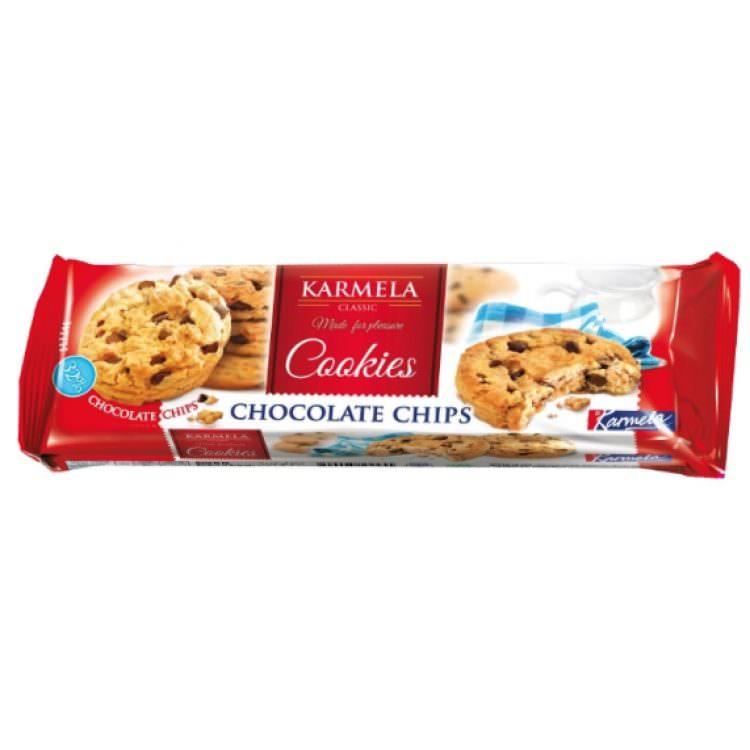 KARMELA COOKIES CHOCOLATE CHIPS 150G