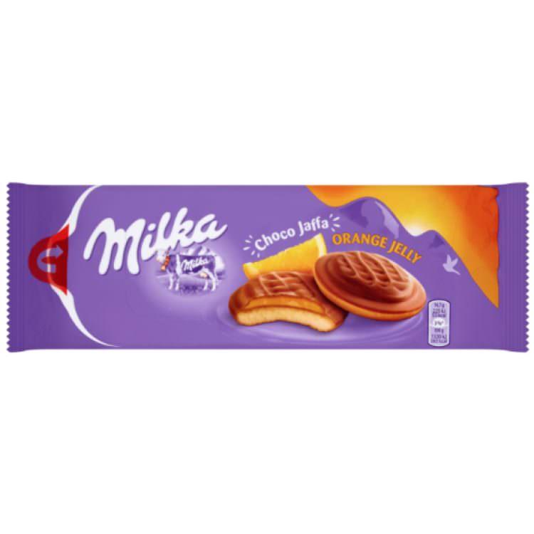 MILKA CHOCO ORANGE JAFFA 147G