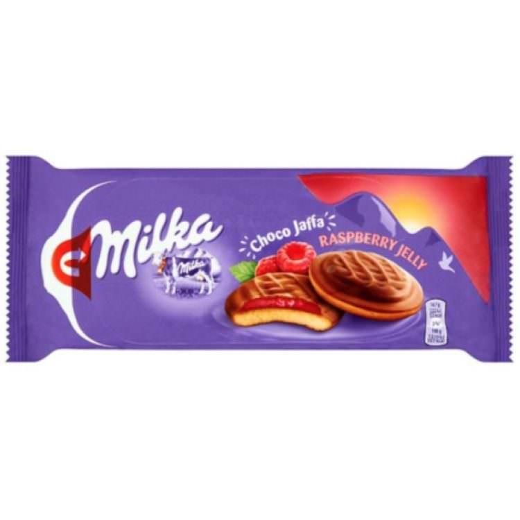 MILKA CHOCO RASBERRY JAFFA 147G
