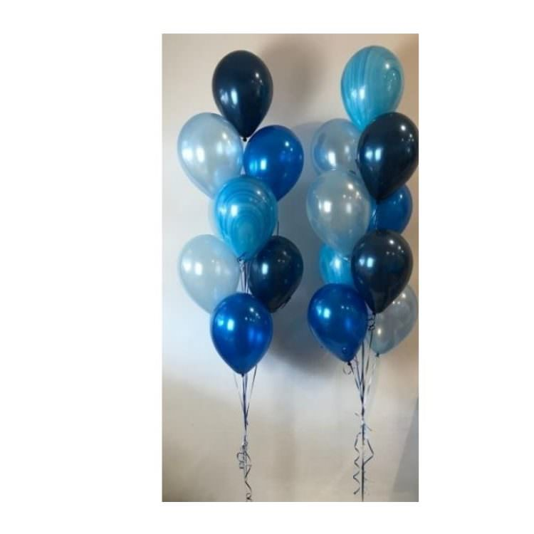 balloons each in whatever color the customer wants