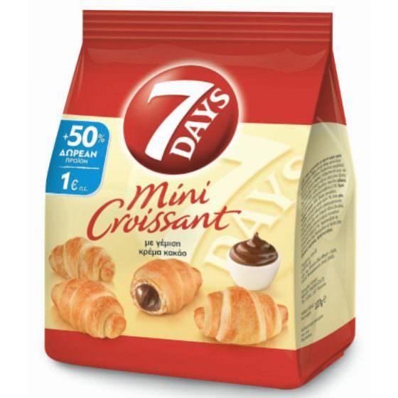 7DAYS MINI CROISSANT WITH COCOA CREAM 107G