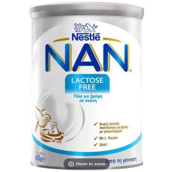 NAN LACTOSE FREE